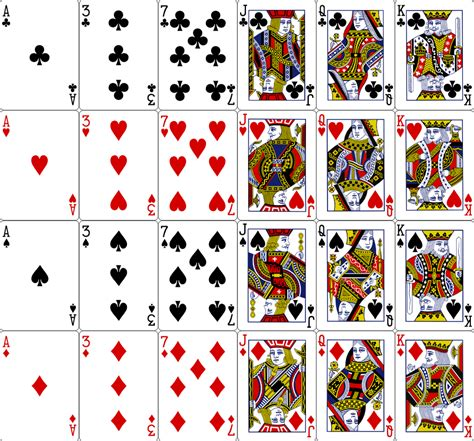 New Playing Card Template E Commercewordpress Deck Of Cards Template