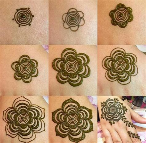 simple henna tattoo designs step by step 1000 simple mehndi designs step by step for beginners