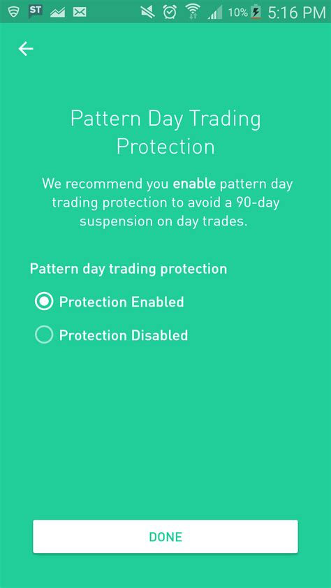 pattern trading robinhood comments by gregthegeek1