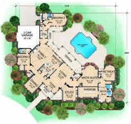 Homeplans 120 187 by Luxury Style House Plans Plan 63 187