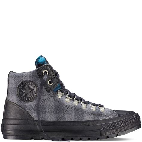 amazoncom converse chuck taylor all star high top converse chuck taylor all star woolrich street hiker