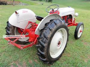 8n Ford Tractor Specs 1952 Ford 8n Tractor Completely Restored