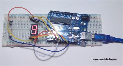 7 Segmen Seven Segment Led Display 1 Digit Common Cathode 056 arduino and seven segment display interfacing
