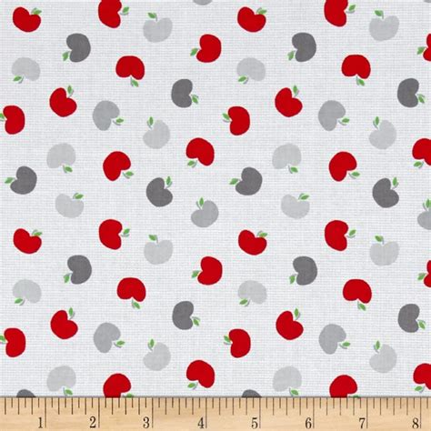 pattern for fabric apple kanvas the big apple big apple white discount designer