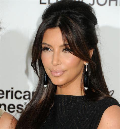 kim kardashian half up half down hairstyles kim 2015 half up half down hairstyle styloss com