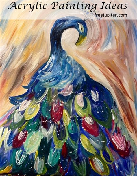 acrylic painting designs ideas 100 artistic acrylic painting ideas for beginners