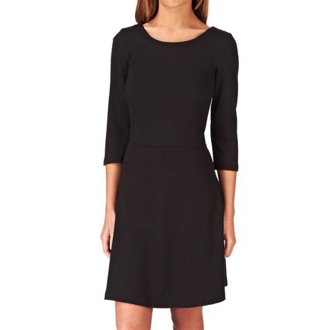 Piqee Dres esprit piquee dress black free delivery on all orders