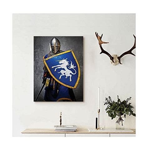 knight home decor liguo88 custom canvas medieval decor collection medieval