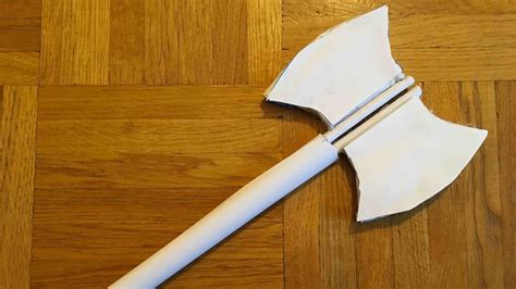 How To Make A Axe Out Of Paper - how to make a paper axe
