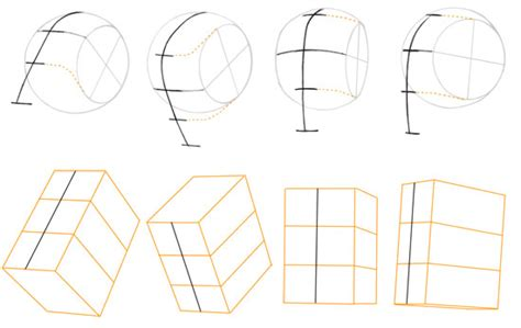 how to draw heads at different angles tell the whole world quot no you move quot