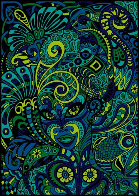 doodle blue dame doodle blue by spaceship505 on deviantart