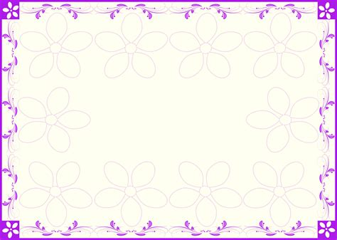 The Kitchen Collection by Violet Floral Frame Background Free Wallpaper