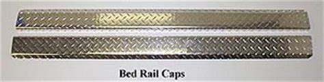 diamond plate bed rails diamond plate bed rail caps 66 77 broncograveyard com