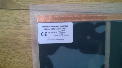 Pets At Home Vivarium Heat Mat by Habistat Reptile Vivarium Heat Mat For Sale In Clondalkin