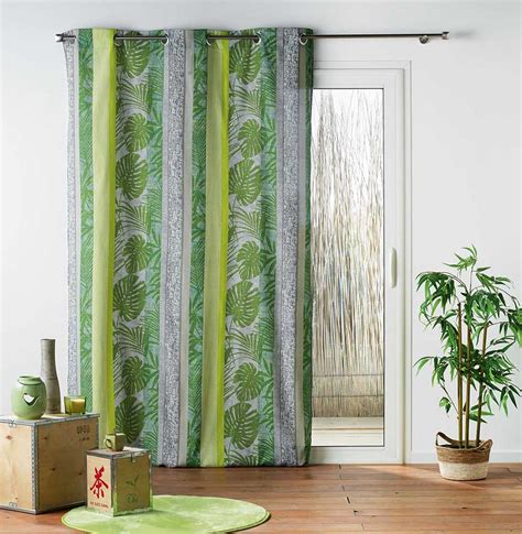 Rideau Jungle by Rideau Ambiance Jungle Vert Homemaison Vente