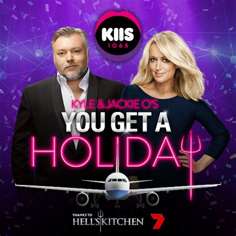 Kyle And Jackie O Car Giveaway - kiis fm to giveaway london holiday to every kyle jackie o caller mumbrella