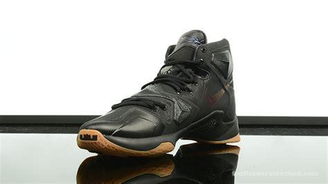 Yuk Sale Nike Lebron 13 Elite Pe Black Yellow nike lebron 13 black