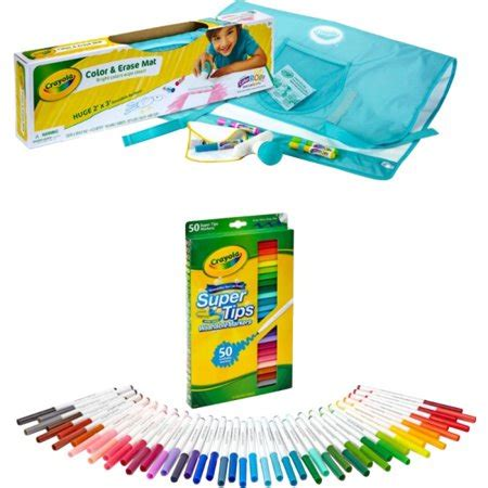 crayola mat crayola color erase mat with tips washable markers