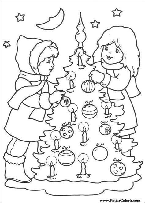 Desenhos Para Pintar e Colorir Natal - Imprimir Desenho 210
