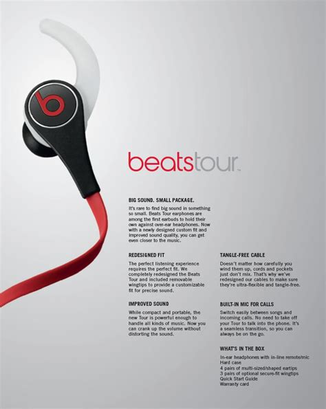 Barang Original Beats Tour Earphone New 2013 Oem A new beats tour