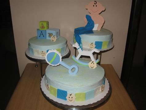Bizcocho Baby Shower Niño by Baby Shower Cakecentral