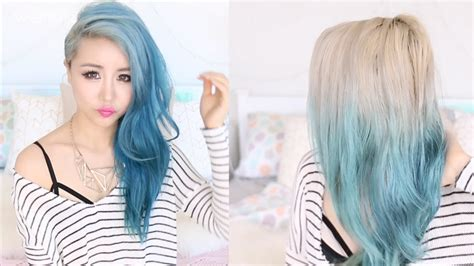 is it best to wash hair before coloring silver ombre hair from blue remove hair color in 1 wash