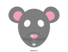 printable rat mask rat mask templates including a coloring page version of