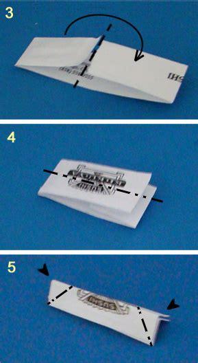 Origami Chopstick Rest - chopstick wrapper stand