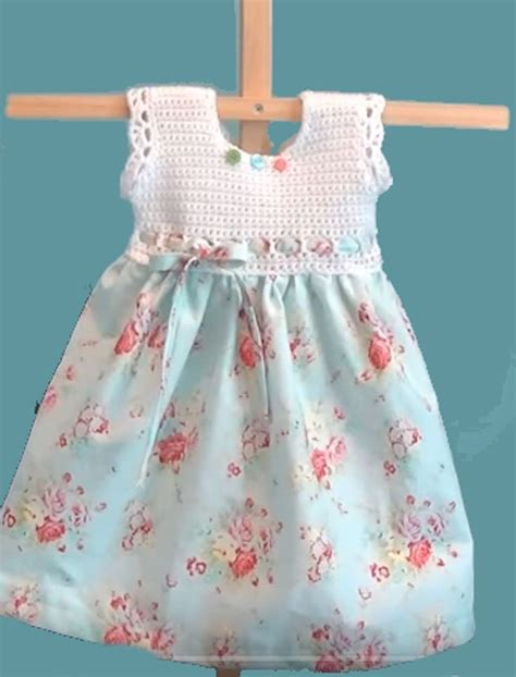 pillowcase dress pattern youtube cute crochet bodice pillowcase