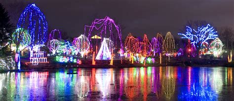 columbus ohio zoo wildlights of christmas places the