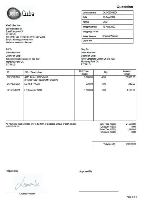 free templates for invoices and quotes quotation template invoice template sle invoice