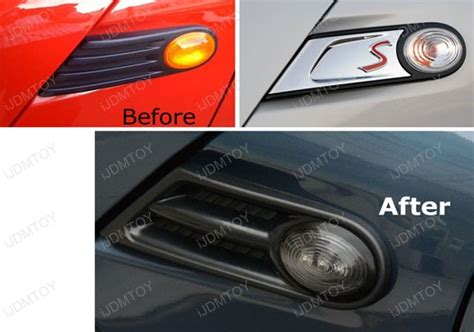 mini cooper car maker led black side marker lights for mini cooper r55 r56