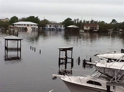 boat lift orange beach al boats floating off their lifts in orange beach page 3