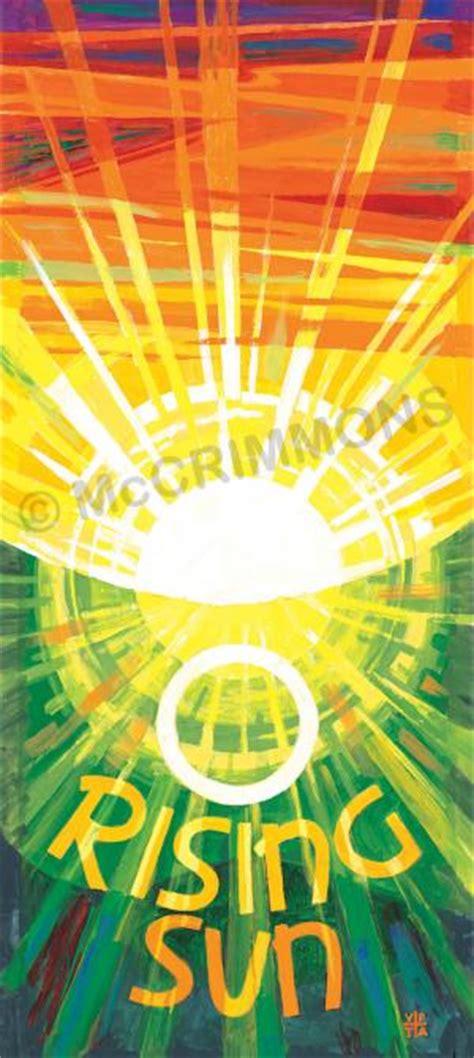 Cross Shadows Rising Book 1 o rising sun banner ban16 mccrimmon saints collection