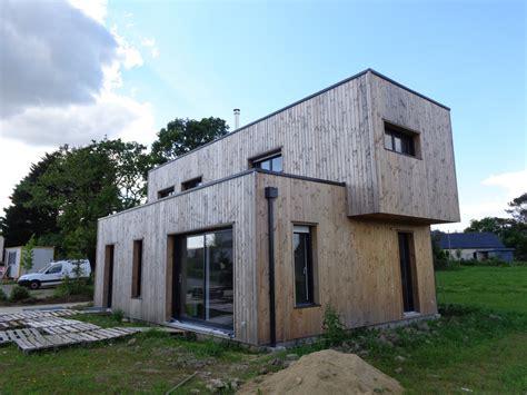 construction de maisons en bois morbihan serru habitat bois