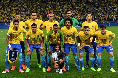 ùi hình brazil world cup 2018 brazil become team to qualify for world cup