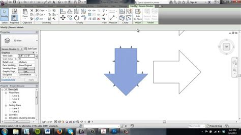 revit tutorial modelling revit tutorial 3 model in place components youtube