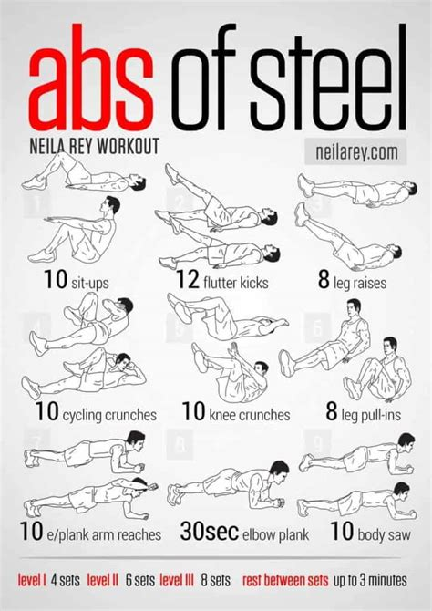 top calisthenics abs workout routines  legends