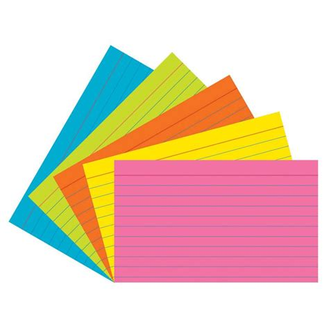 printable index cards 5x8 pacon super bright index cards 3x5 ruled