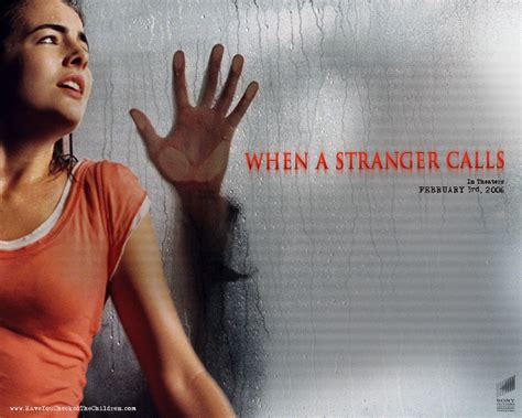 when a stranger calls 2006 when a stranger calls horror movies wallpaper 9482517