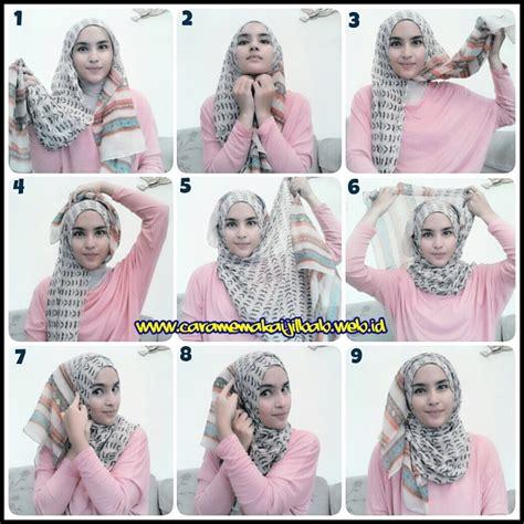 tutorial hijab paris elegant 23 tutorial hijab paris segi empat simple dan modis