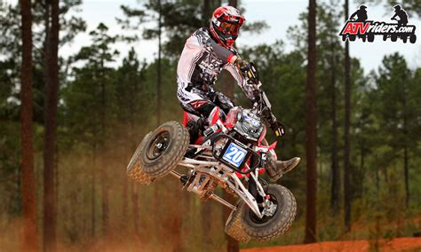 pro motocross racers fly racing s josh upperman ama pro atv motocross racer