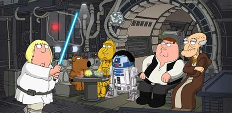 family guy star wars couch family guy episode iv a new hope commentary