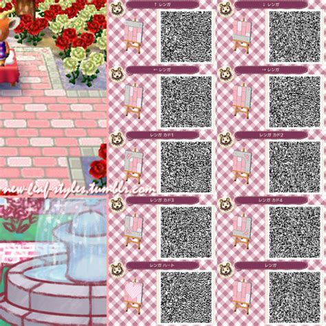 acnl cute hairstyles animal crossing new leaf hhd qr code paths