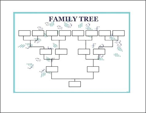 family tree template word 2007 family tree template free printable word excel in doc