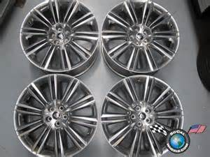 Jaguar Tires Four 10 12 Jaguar Xj Xjl Factory 20 Wheels Oem Rims Kasuga