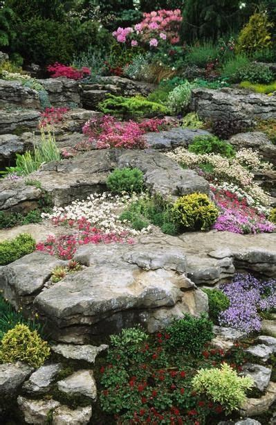 Rock Garden Perennials 25 Best Ideas About Landscaping With Rocks On Pinterest Rock Flower Beds Landscape Design