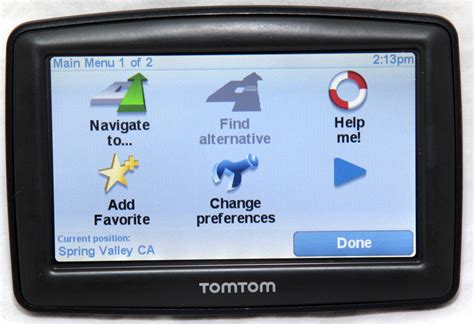 usa map tomtom xl tomtom one xl 310 gps receiver navigation system free usa