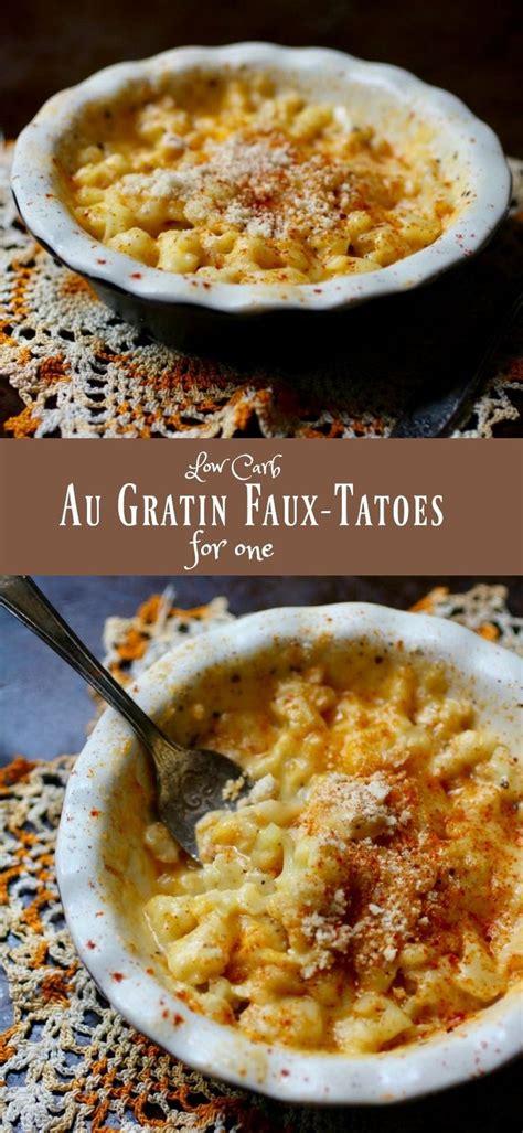 low carb comfort food au gratin faux tatoes low carb comfort food recipe