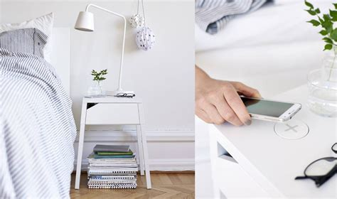 Nachttisch Mit Ladefunktion by Mittwochsw 252 Nsche Shoppe Ikeas Kabellose Design Kollektion